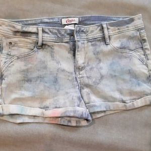 3/$25🎉 Candie's Sparkly Multicolored Jean Shorts